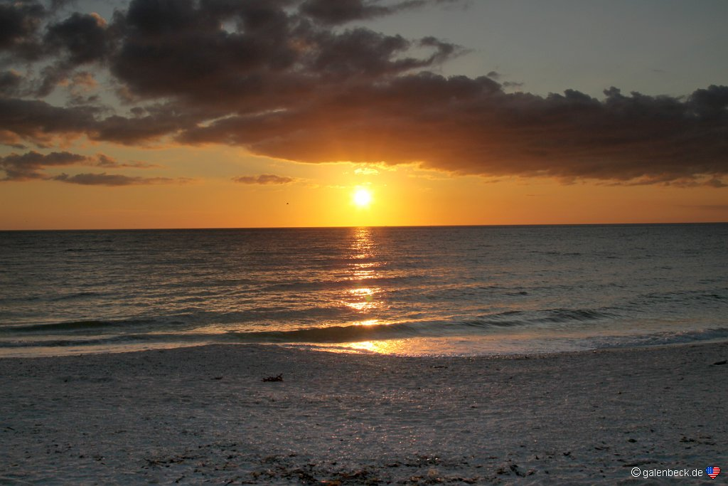 Bonita Springs Beach Sunset