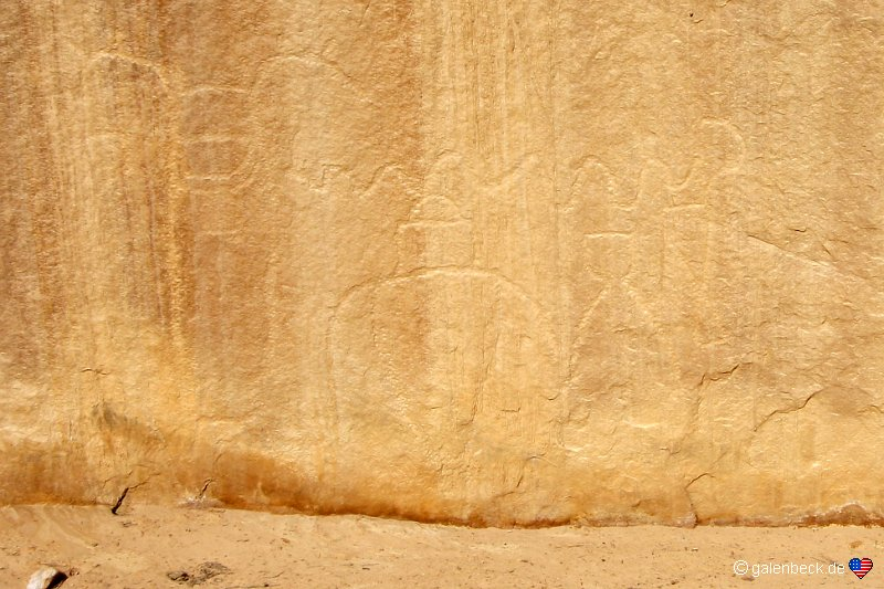 Lone Warrior Pictograph