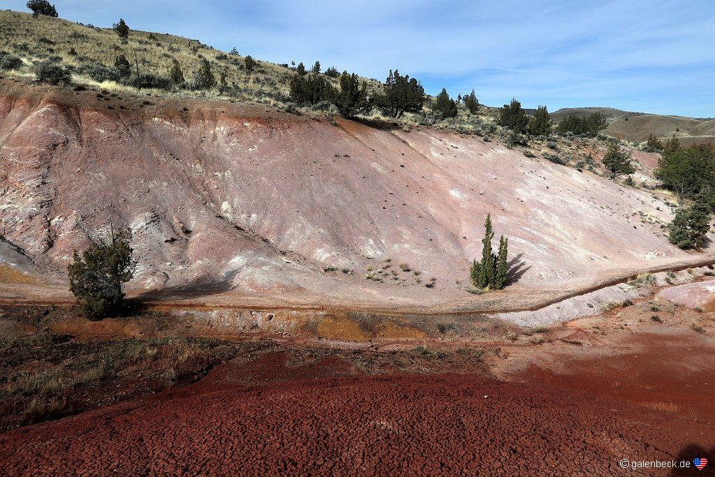 John Day Fossil Beds National Monument - Painted Hills Unit