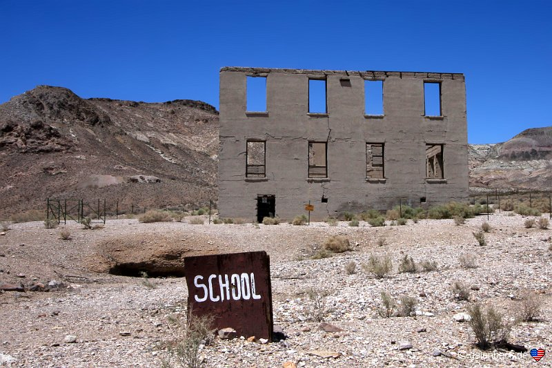 Rhyolite Historic Townsite