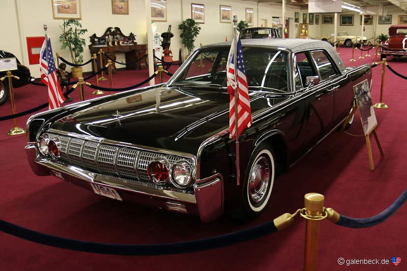 1962 Lincoln Continental Town Limosine President John F. Kennedy