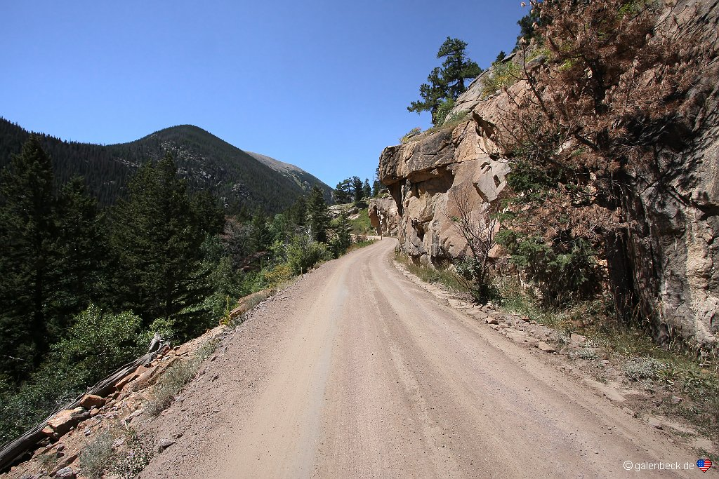 Rocky Mountain National Park, Old Fall River Road